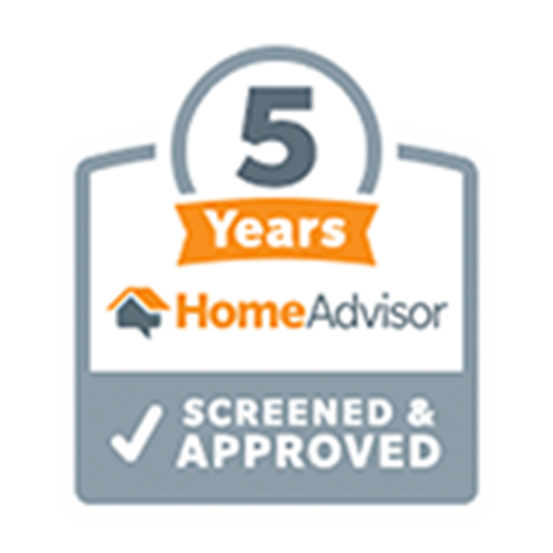 5 Years Home Advisor Screened & Approved
